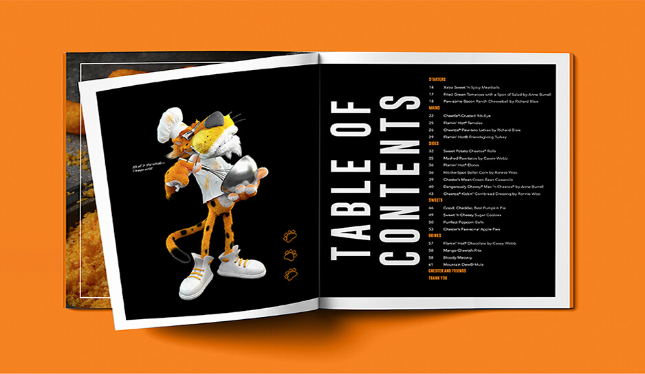 Fans could visit a custom site to get their Cheetos-covered paws on the limited-time cookbook by donating $35. Each donation went to World Central Kitchen to feed vulnerable communities and exhausted medical professionals.