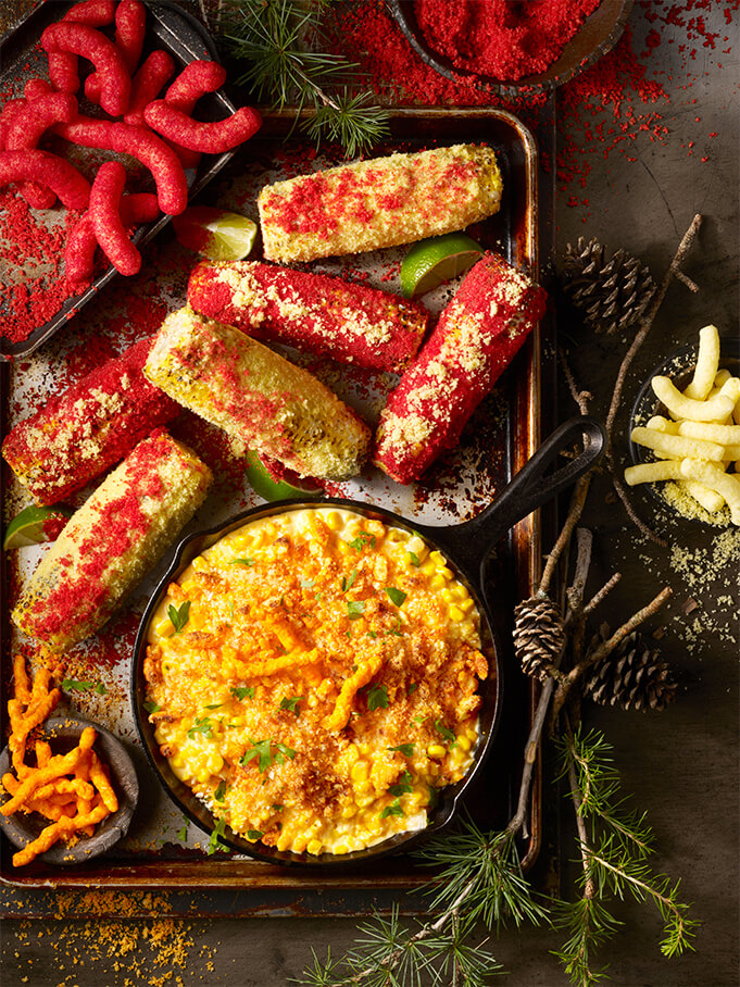 The holiday cookbook – developed by creative agency, TMA – featured 22 deliciously cheesy food and drink recipes, each with Cheetos as an ingredient.