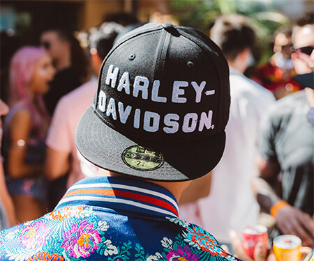 Influencer based marketing campaign that utilized influencers and experiental marketing to create awesome awareness around the Harley-Davidson brand