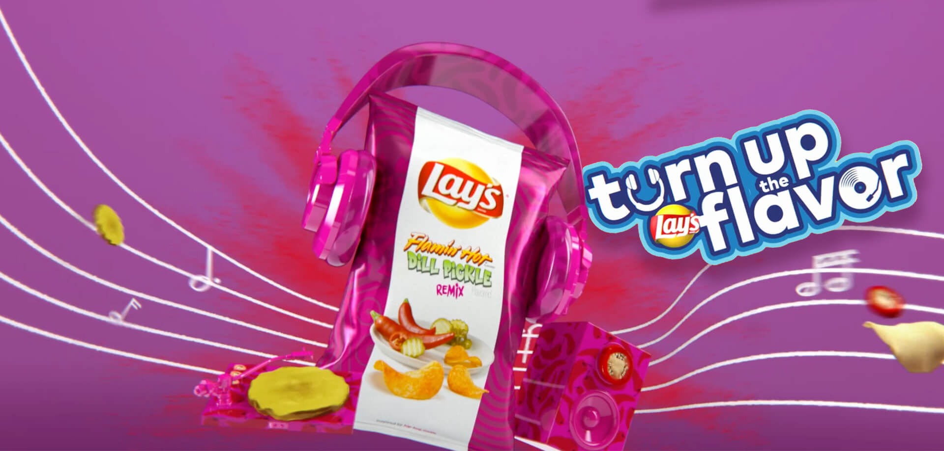 Music based crowdsourcing effort for Lay's, creating new flavors of chips.
