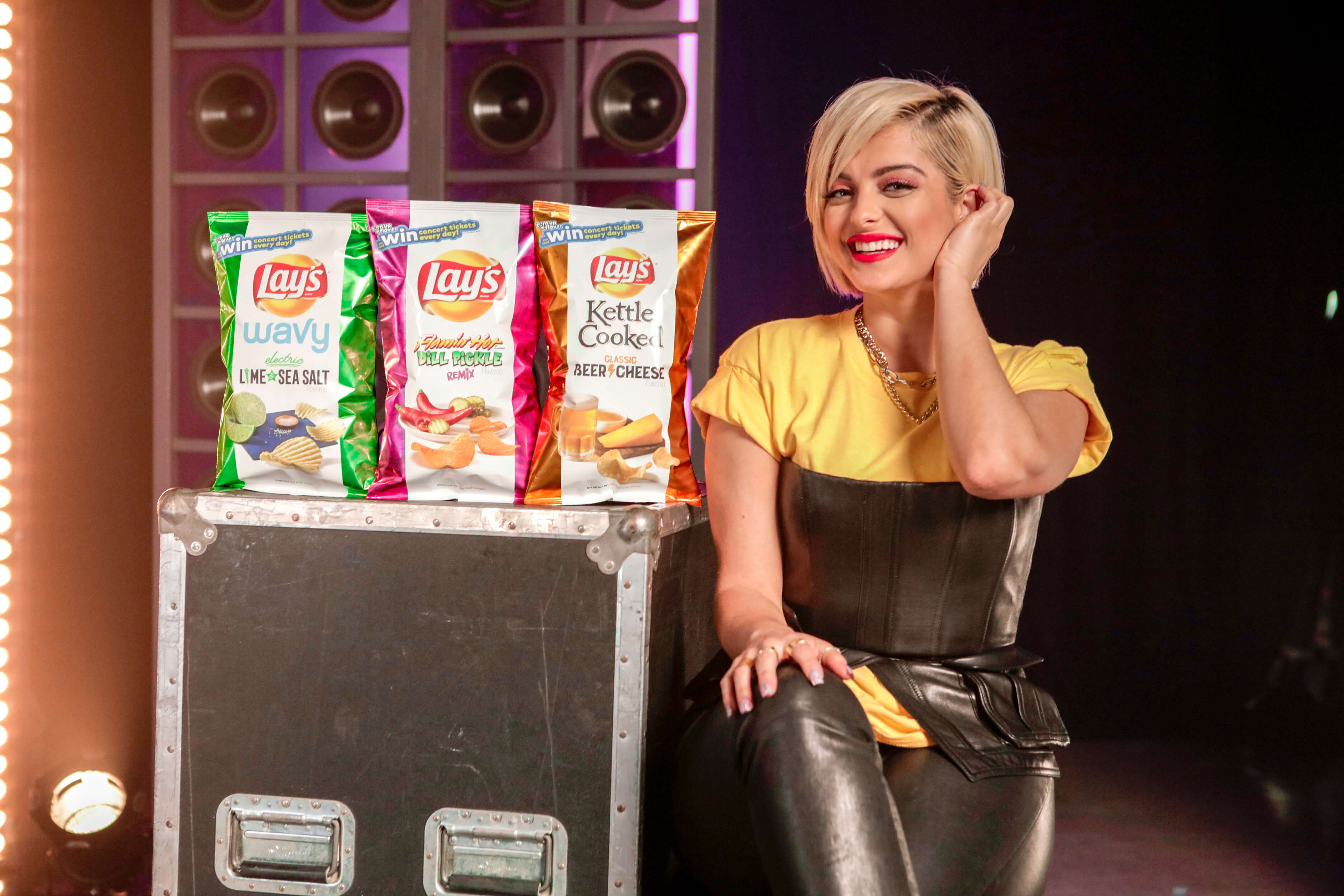 """Leveraging The Marketing Arm's connections as a talent agency, we partnered with Bebe Rexha to create an original song, """"Right Here, Right Now,"""" remixed in four musical genres made to pair with the new Lay's flavors."""