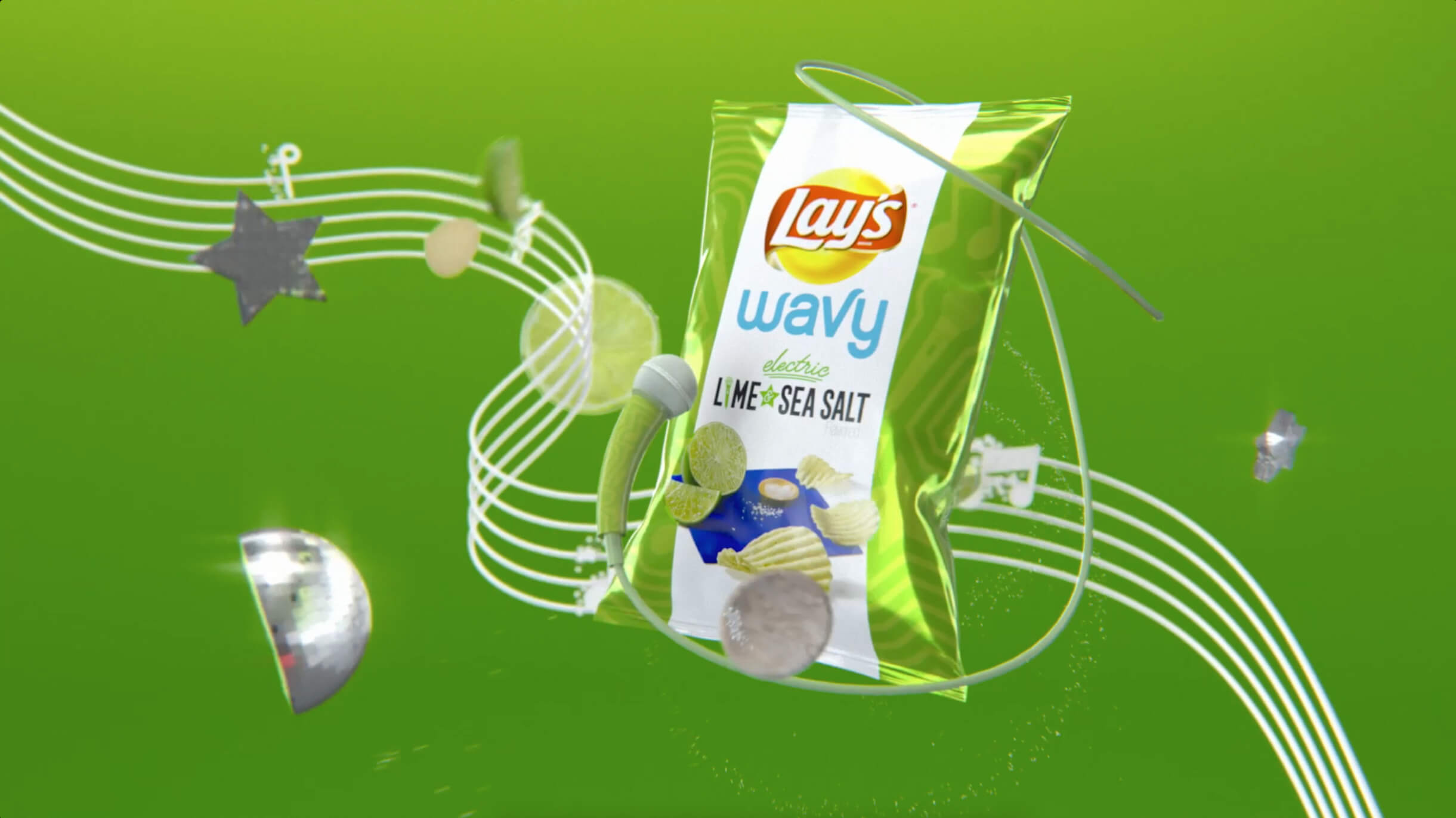 Lay's invited consumers to try each of the limited time flavors and receive a custom paired exclusive remix of the Bebe Rexha original song Right Here Right Now.