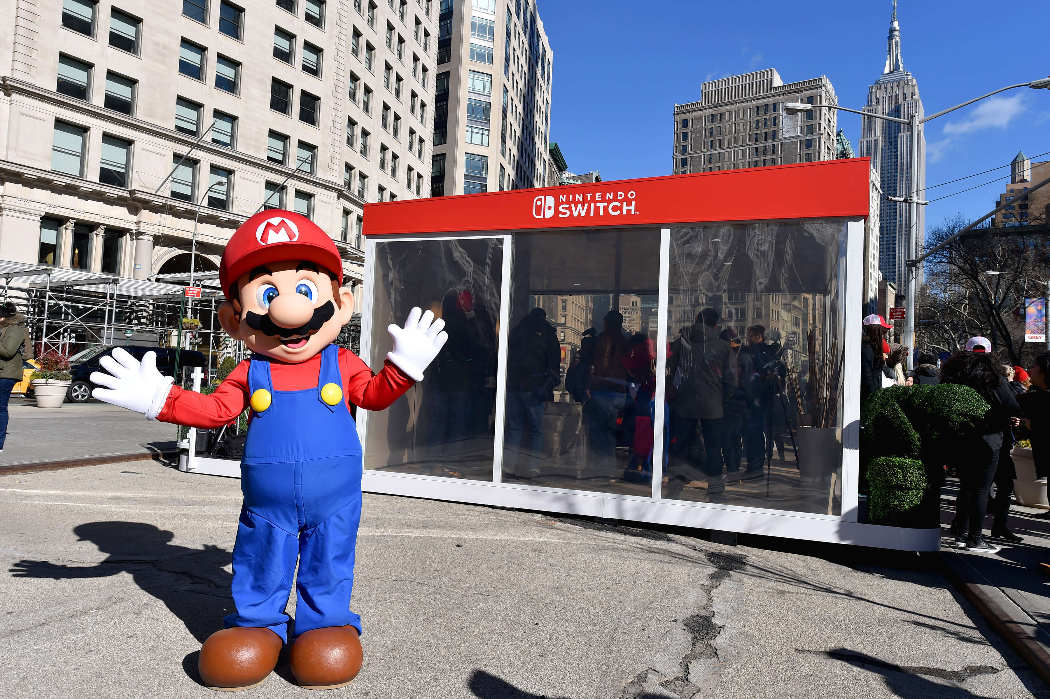 For the highly anticipated launch of the Nintendo Switch, the brand's first console release since 2012, Nintendo wanted to fuel demand. So, TMA developed a marketing strategy to create an unexpected, buzzworthy tour starting off in Madison Square Park in the heart of New York City.