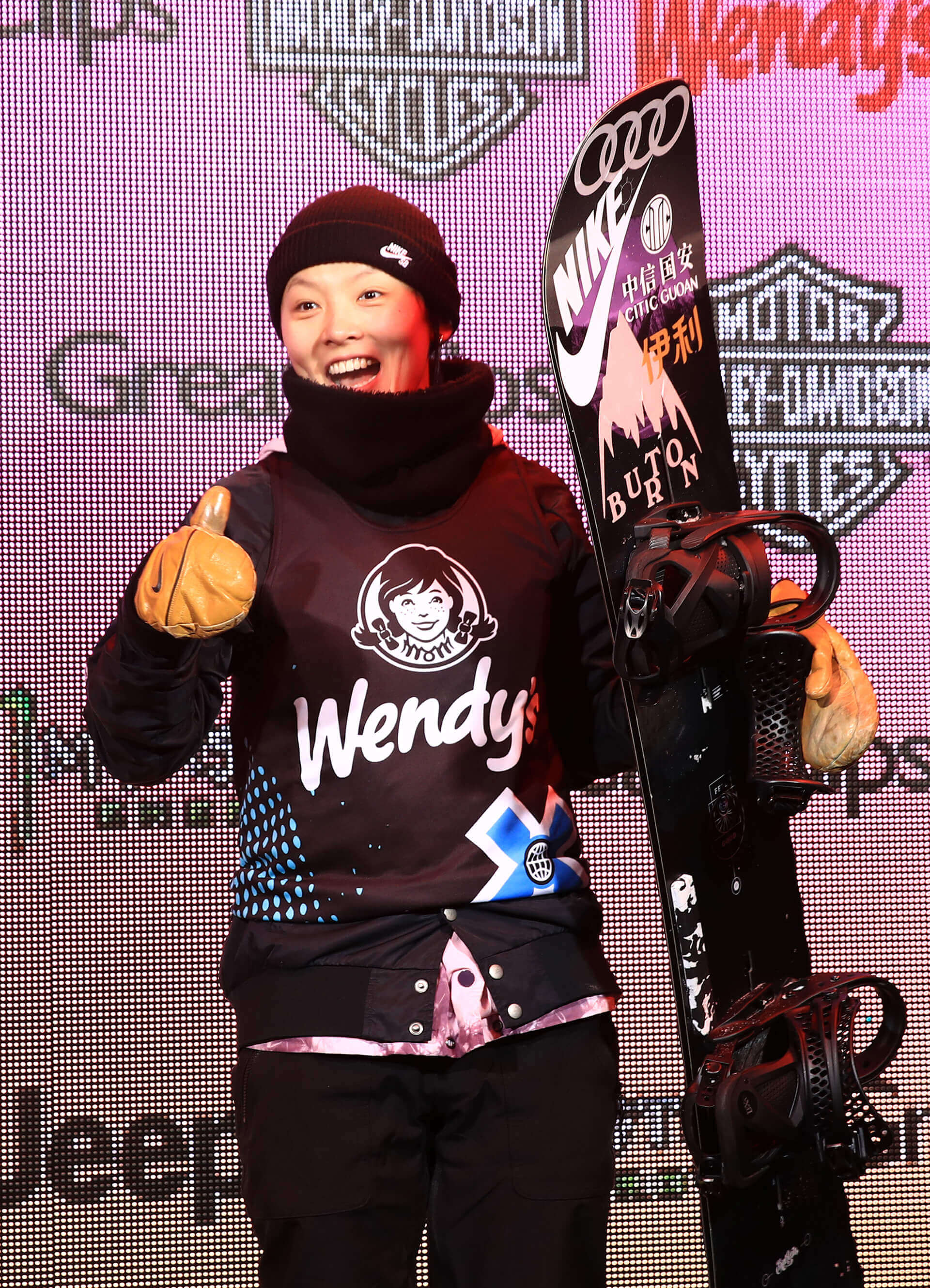 Along with securing media rights as the official QSR of X Games 2019, the brand sponsored two titled events including the Wendy's Men's Snowbike Cross and the all-new Wendy's Snowboard Knuckle Huck.