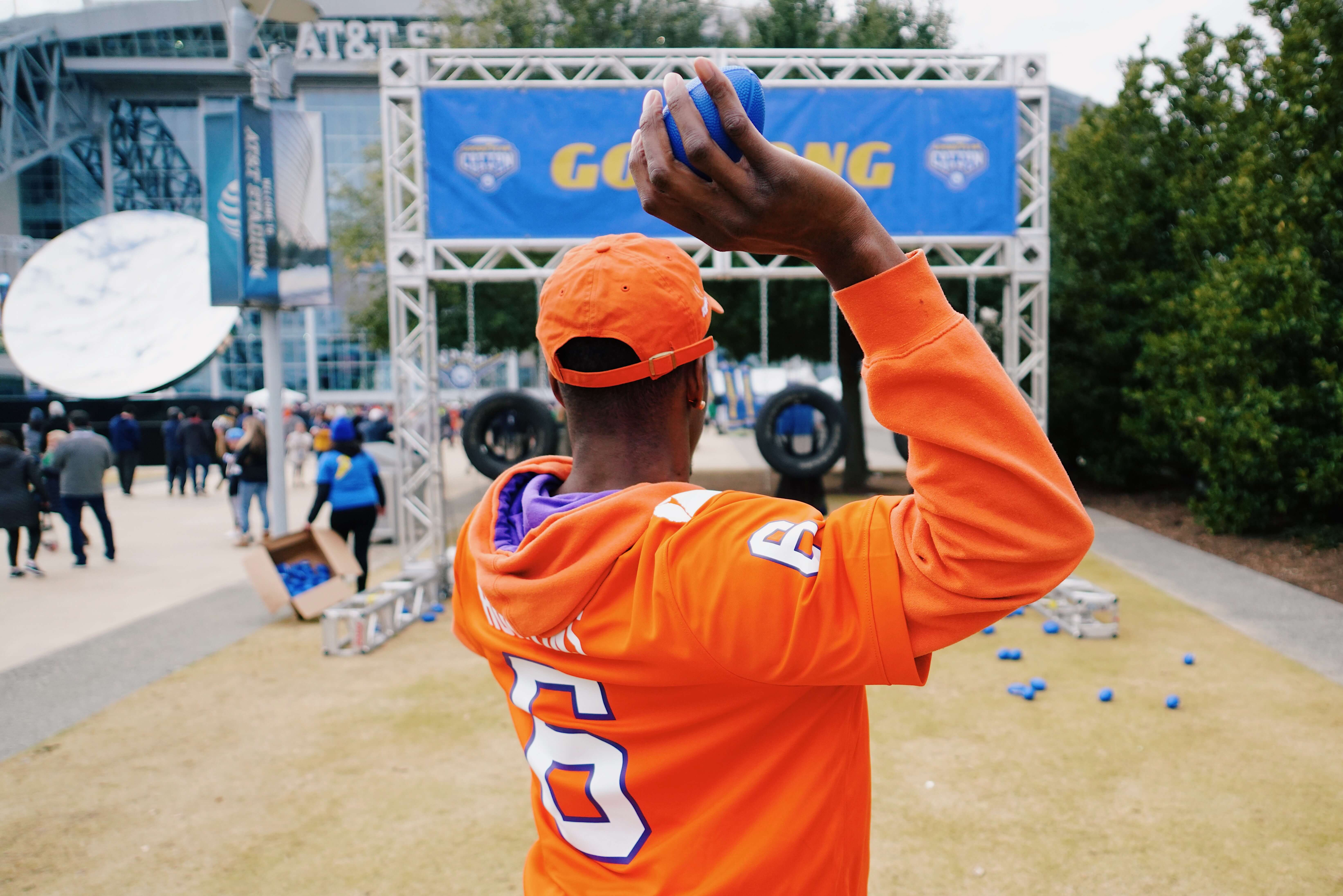 TMA and Goodyear put Cotton Bowl attendees to the test to show themselves blimpworthy through an activation with a series of fan-focused activities.