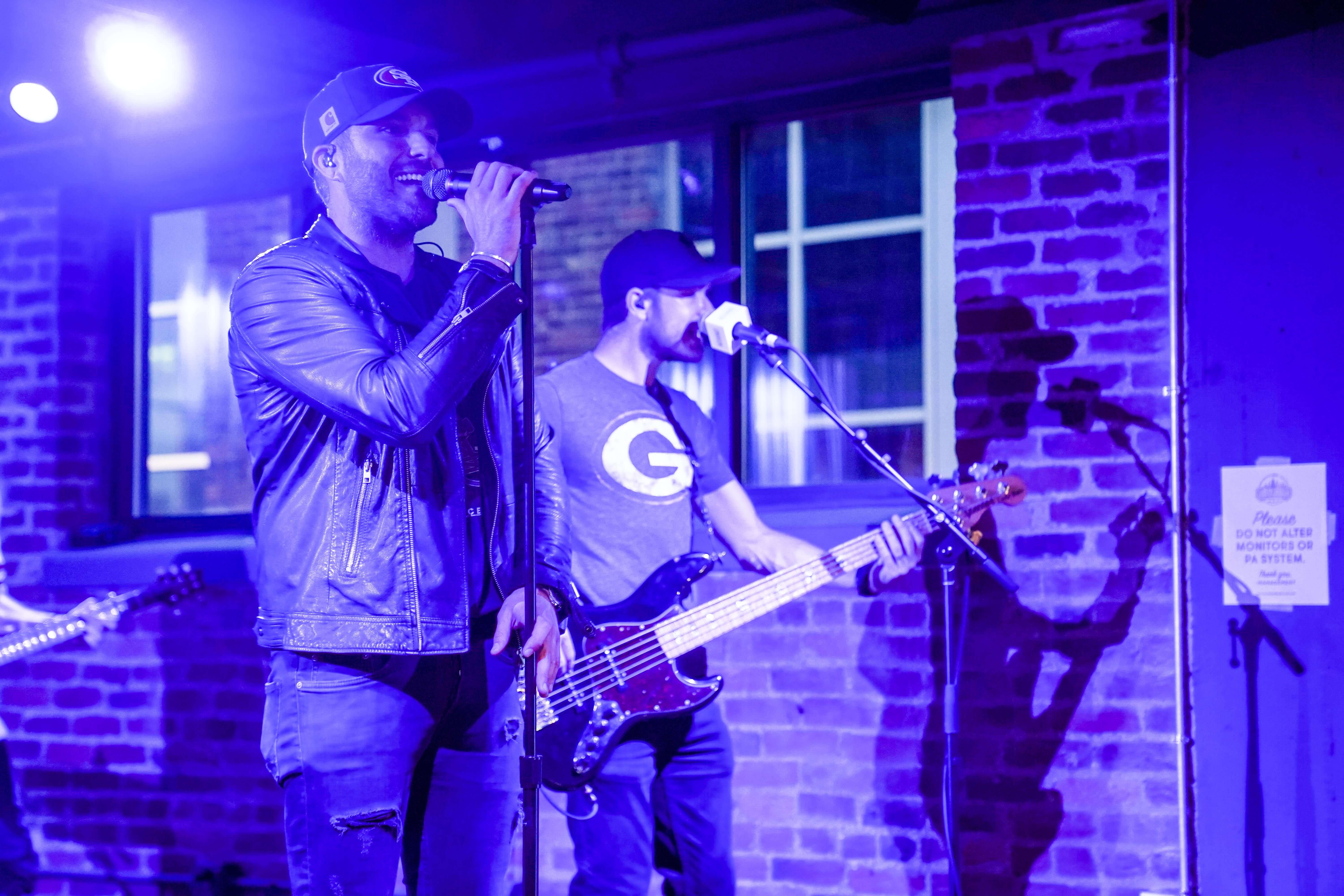 """The festivities concluded with a musical performance by country singer Tyler Rich (Big Machine Label Group). The CMT 2018 Listen Up Artist is best known for his single """"The Difference."""""""