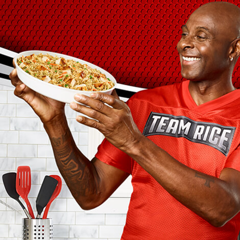 RICE-A-RONI RECRUITS A HALL OF FAMER image 1