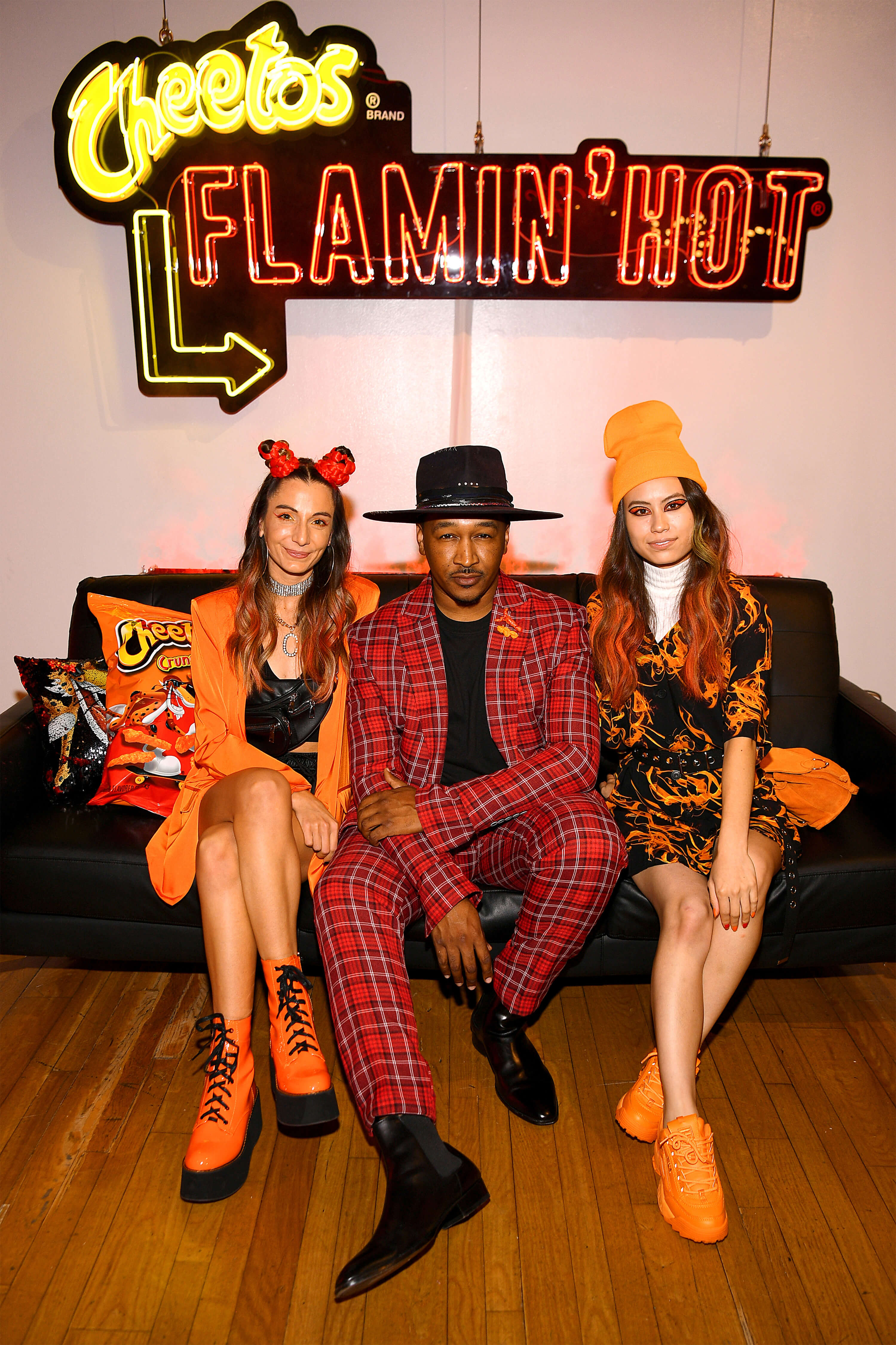 TMA and Cheetos recruited fashion influencers such as celebrity stylist J. Bolin and costume designer Ami Goodheart to curate 21 looks for the House of Flamin' Haute Runway Show.