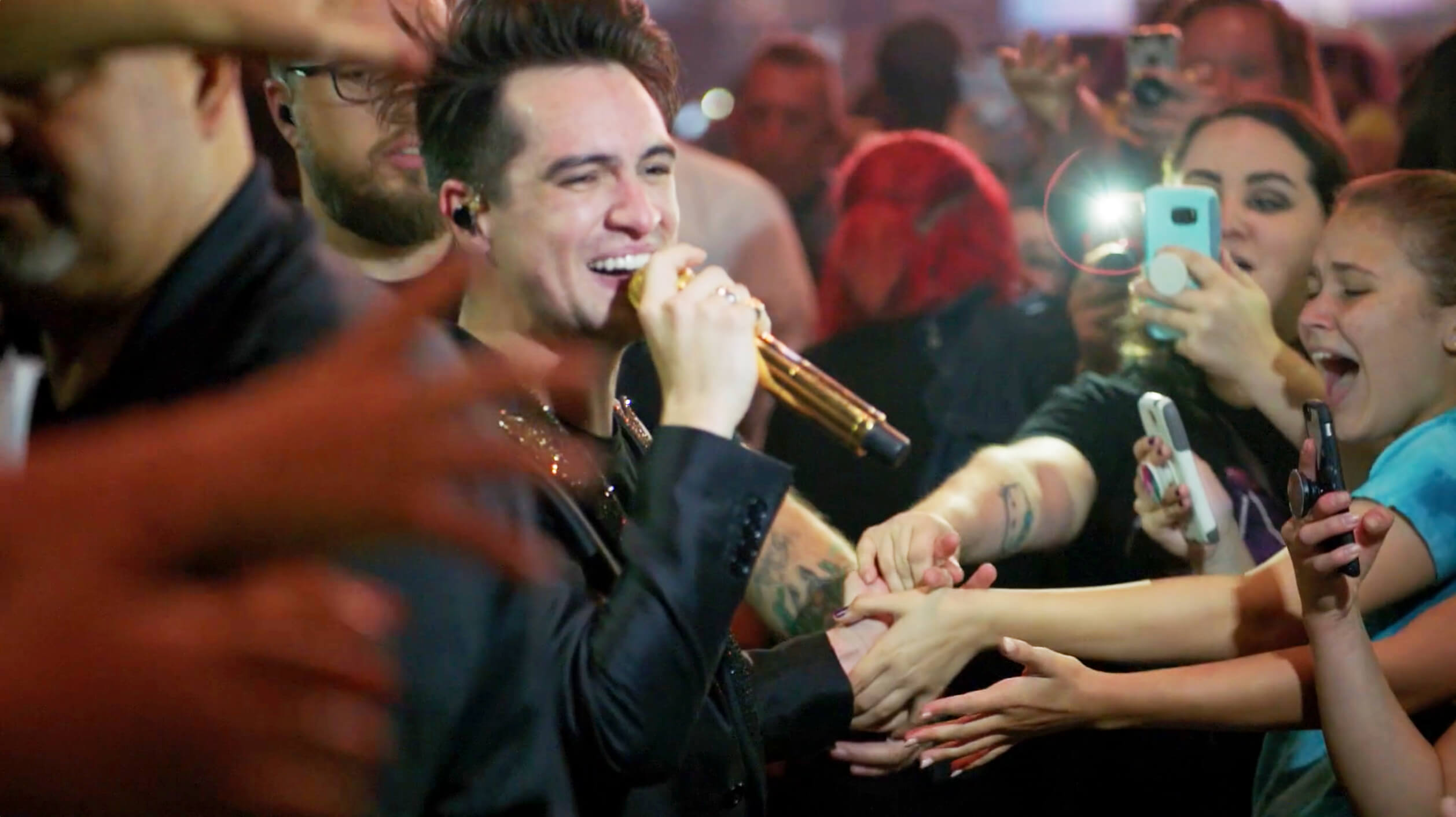 Brendon Urie from Panic! At The Disco was positively impacted by his experiences with mentorship at a young age, and TMA developed a Neighborhood of Good content series to help tell that story.
