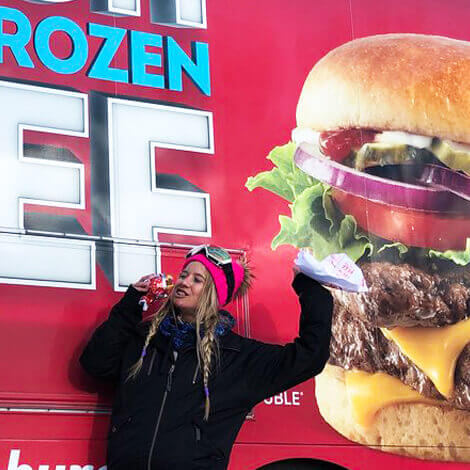Wendy's hits the slopes with their first Ski Thru at the Winter X Games image 2