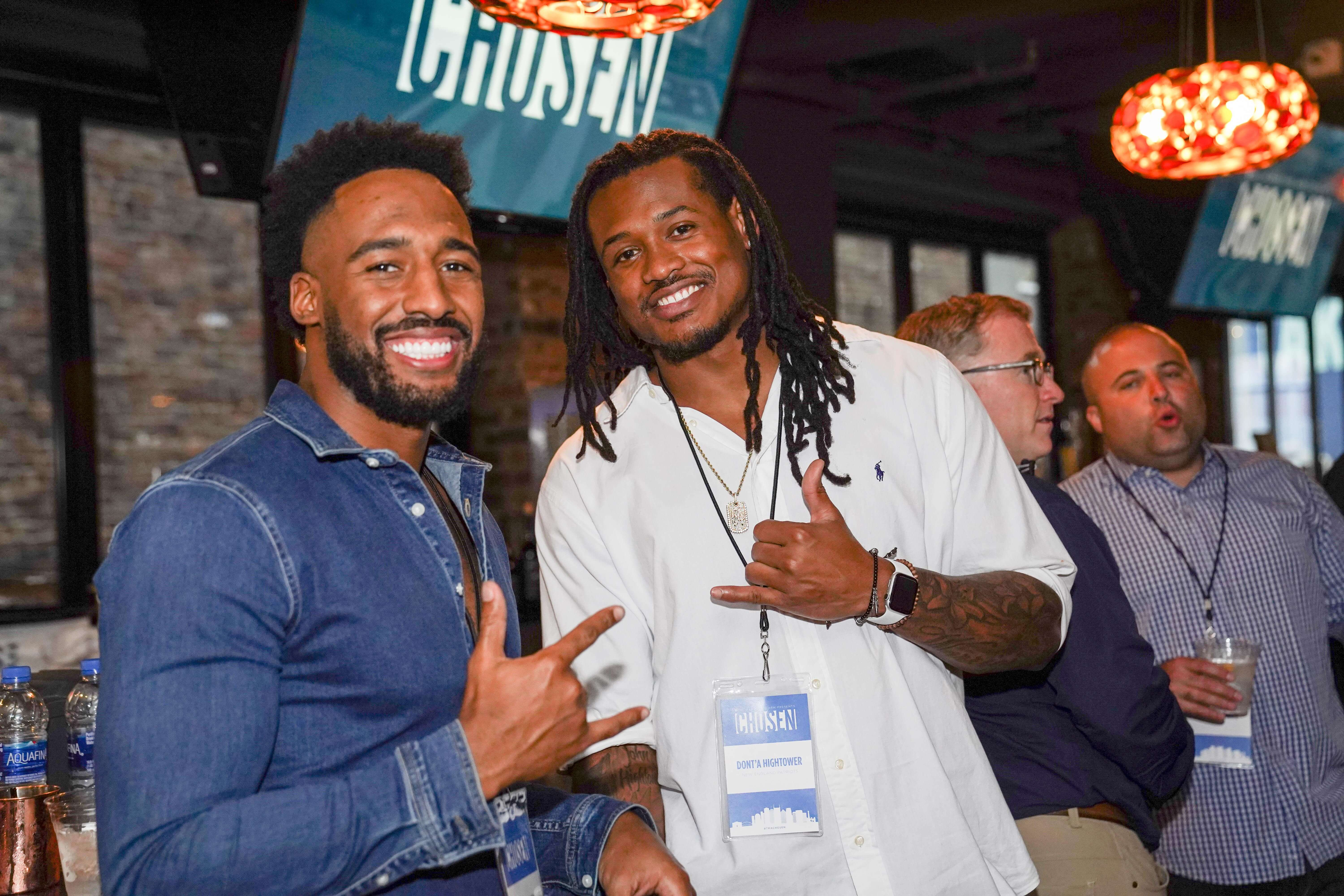 Celebrity guests included Tennessee Titans Logan Ryan and Adoree Jackson, New England Patriot Dont'a Hightower, and NFL TV personalities Booger McFarland, Ian Rapoport, Nate Burleson, Kyle Brandt, and Merril Hoge.