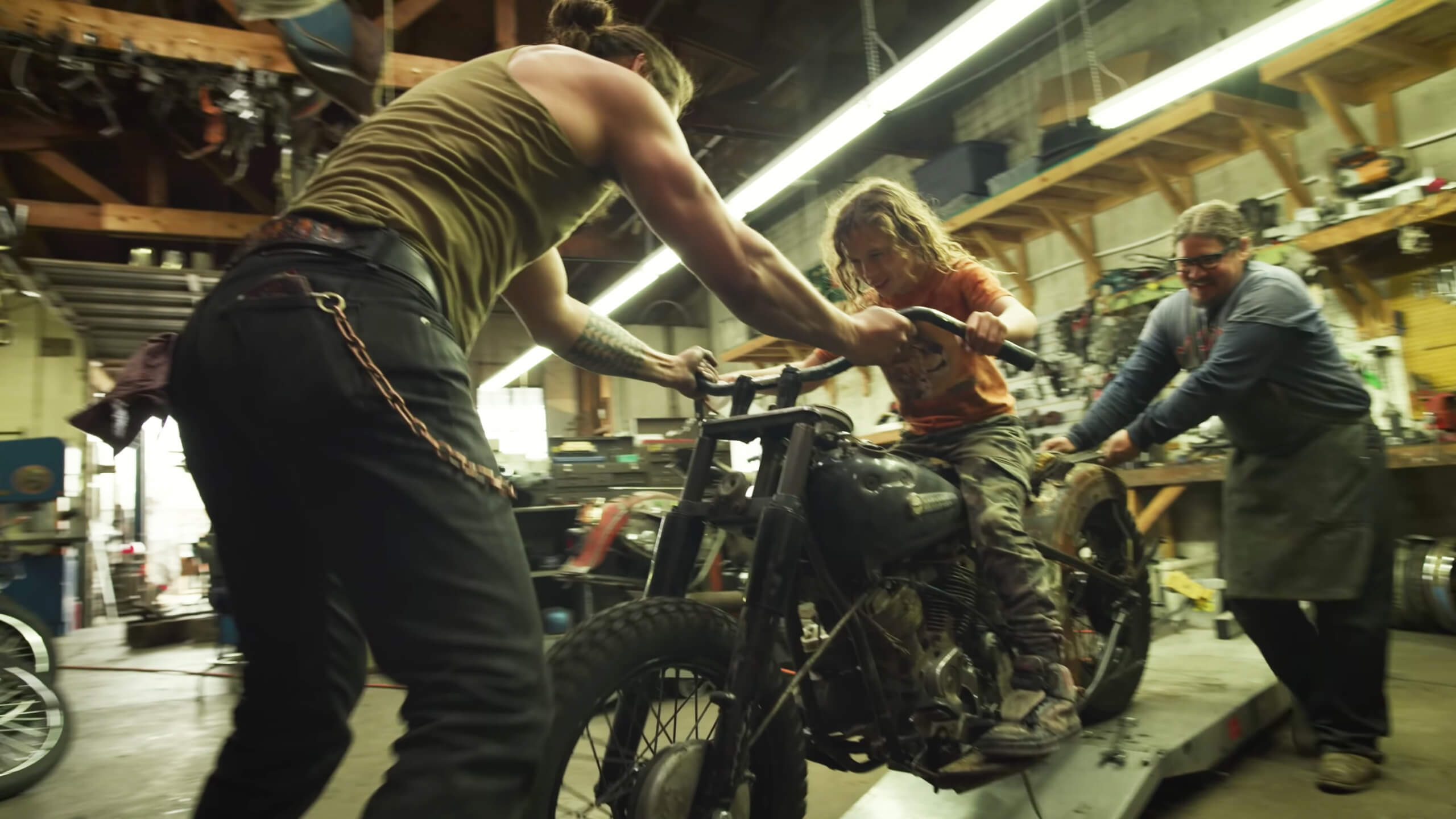 TMA worked with actor Jason Momoa to create a Father's Day video for Harley-Davidson to remind audiences why the iconic brand still resonates with audiences.