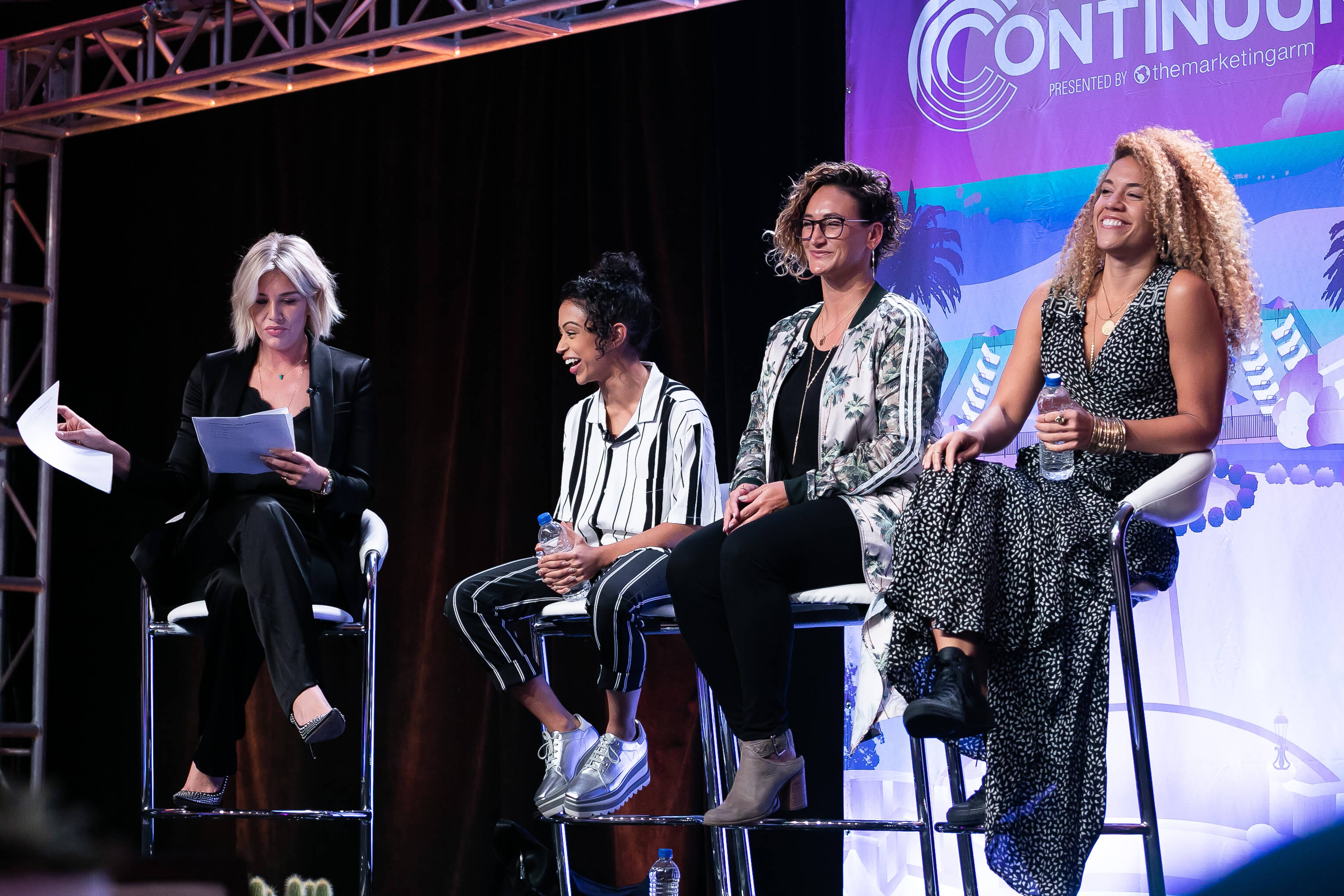 Charissa Thompson hosted a day of panels, which included some incredible influencers and creators: Women Empowerment in Influencer Marketing with Liza Koshy, Courtney Carter, and Carri Twigg; The Influencer CMO with Derek Hough, Jeanette Getrost, Matt Bellassai, and Young Guru; a Fireside Chat with Ray Clark and Jay Shetty; and For a Cause with Anna Akana, Tyler Oakley, Brooks Laich and Charissa Thompson.