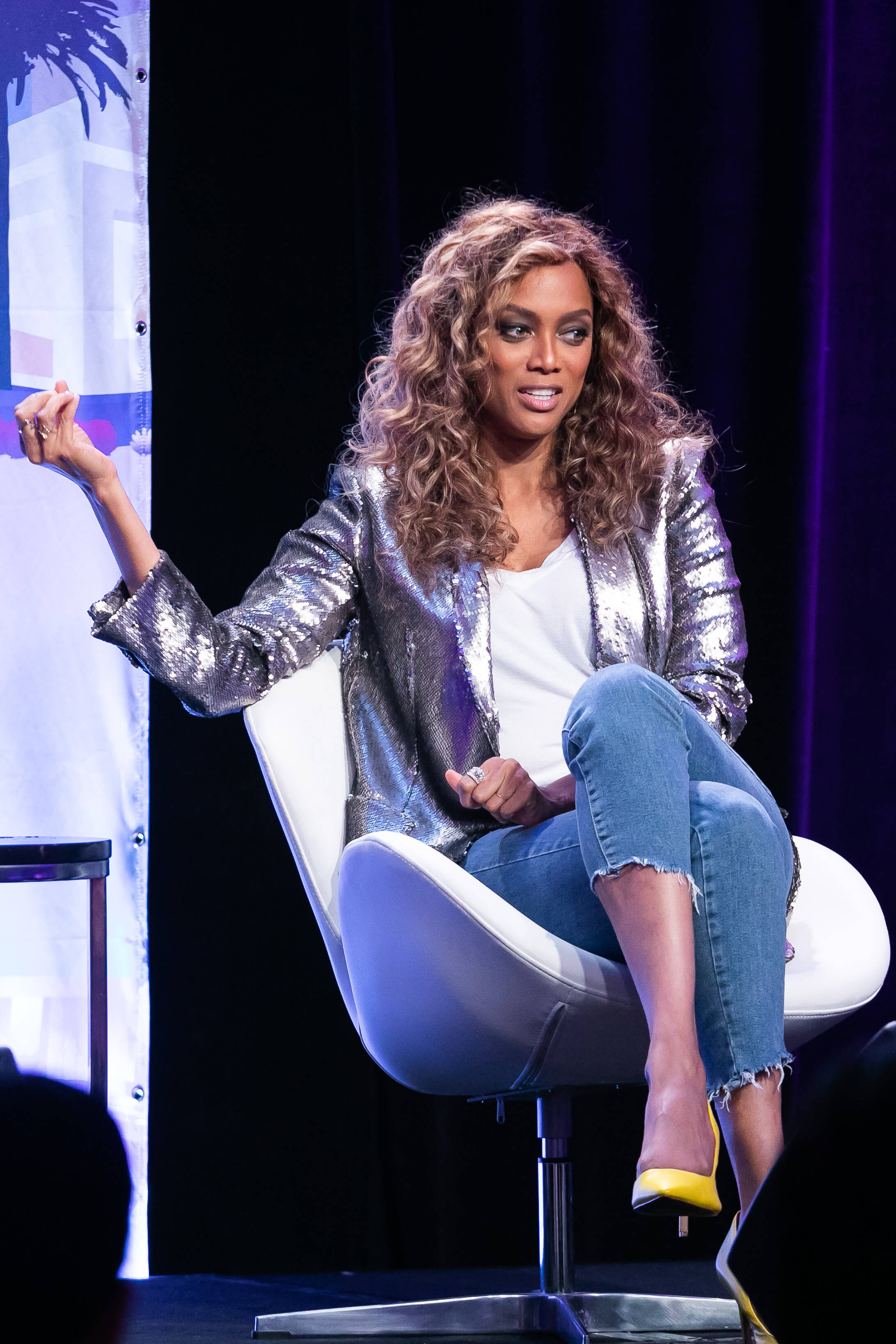 The Influencer Continuum kicked off with fireside chats starring model and media entrepreneur, Tyra Banks; groundbreaking writer/producer, Kenya Barris of Black-ish and Girls Trip; and up and coming artist, Bryce Vine.