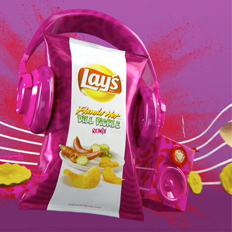 Lay's Turns Up The Flavor With Music image 4