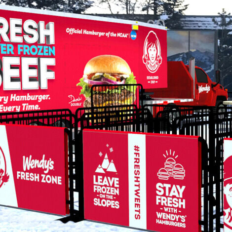 Wendy's hits the slopes with their first Ski Thru at the Winter X Games image 4