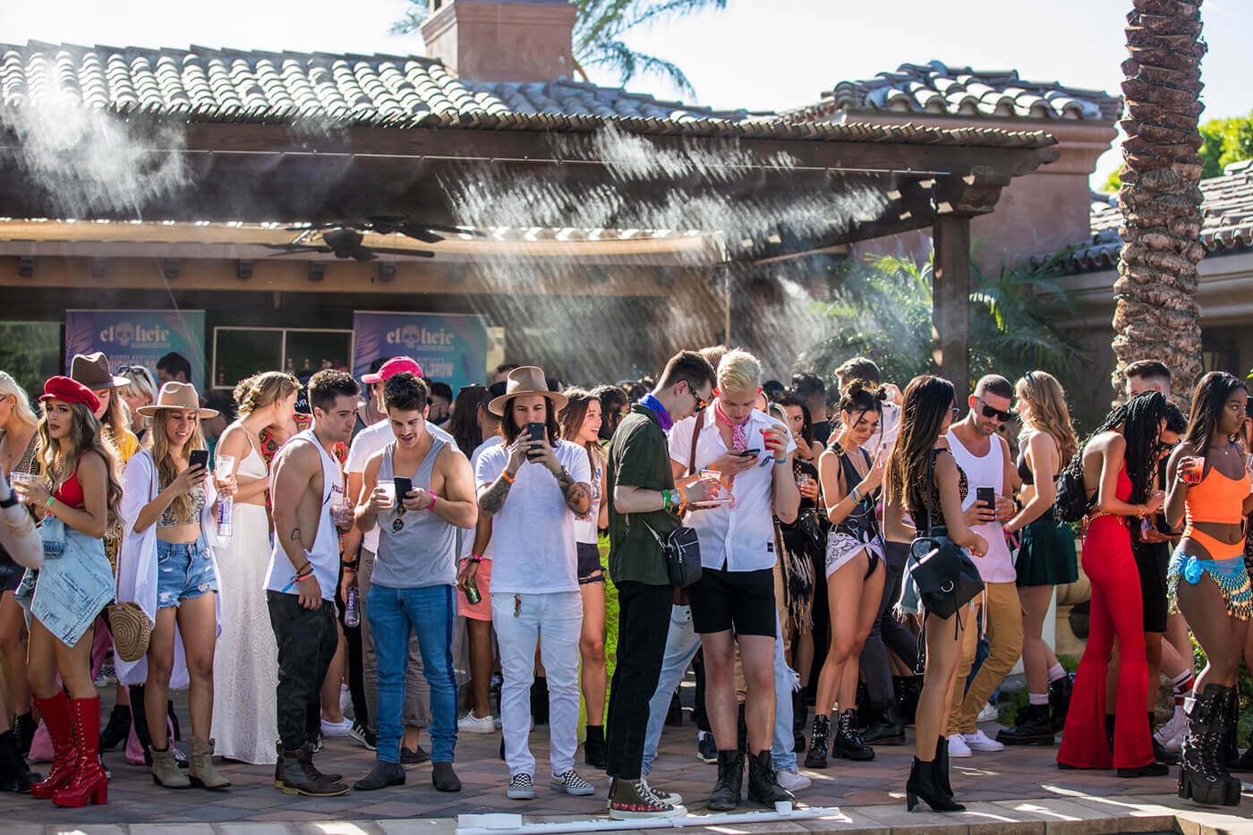 TMA showcased its expertise in experiential marketing by renting out two adjoining private estates and executing an exclusive pool party event for the biggest names in town.