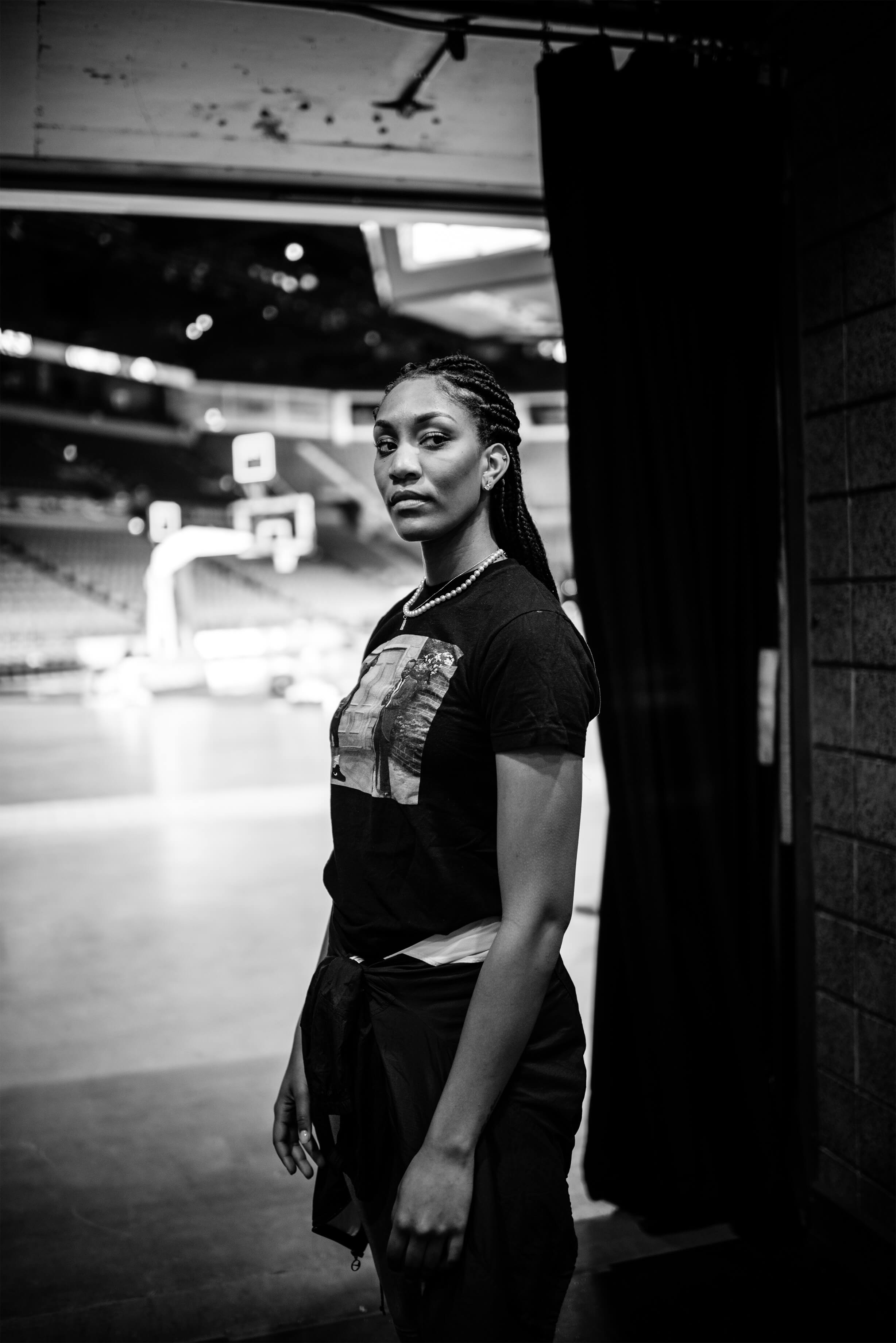 "Las Vegas Aces forward A'ja Wilson joins The Marketing Arm and the WNBA to discuss what it means to redefine the ""W."""