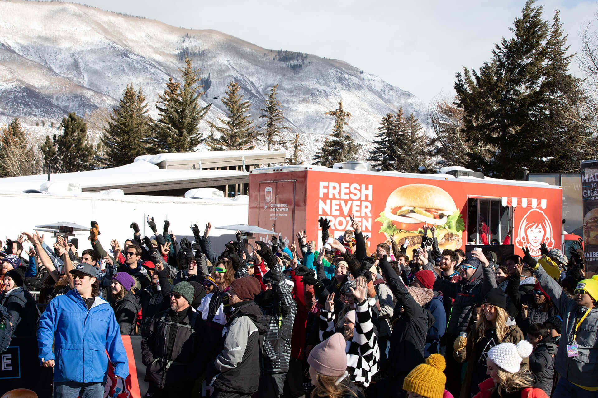 Experiential agency TMA took Wendy's brand promise of serving up fresh-never-frozen beef to the extreme at the 2019 Winter X Games, which hosted their new Made-to-Crave Burger product launch activation.