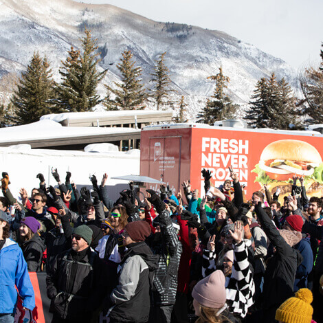 Wendy's hits the slopes with their first Ski Thru at the Winter X Games image 6