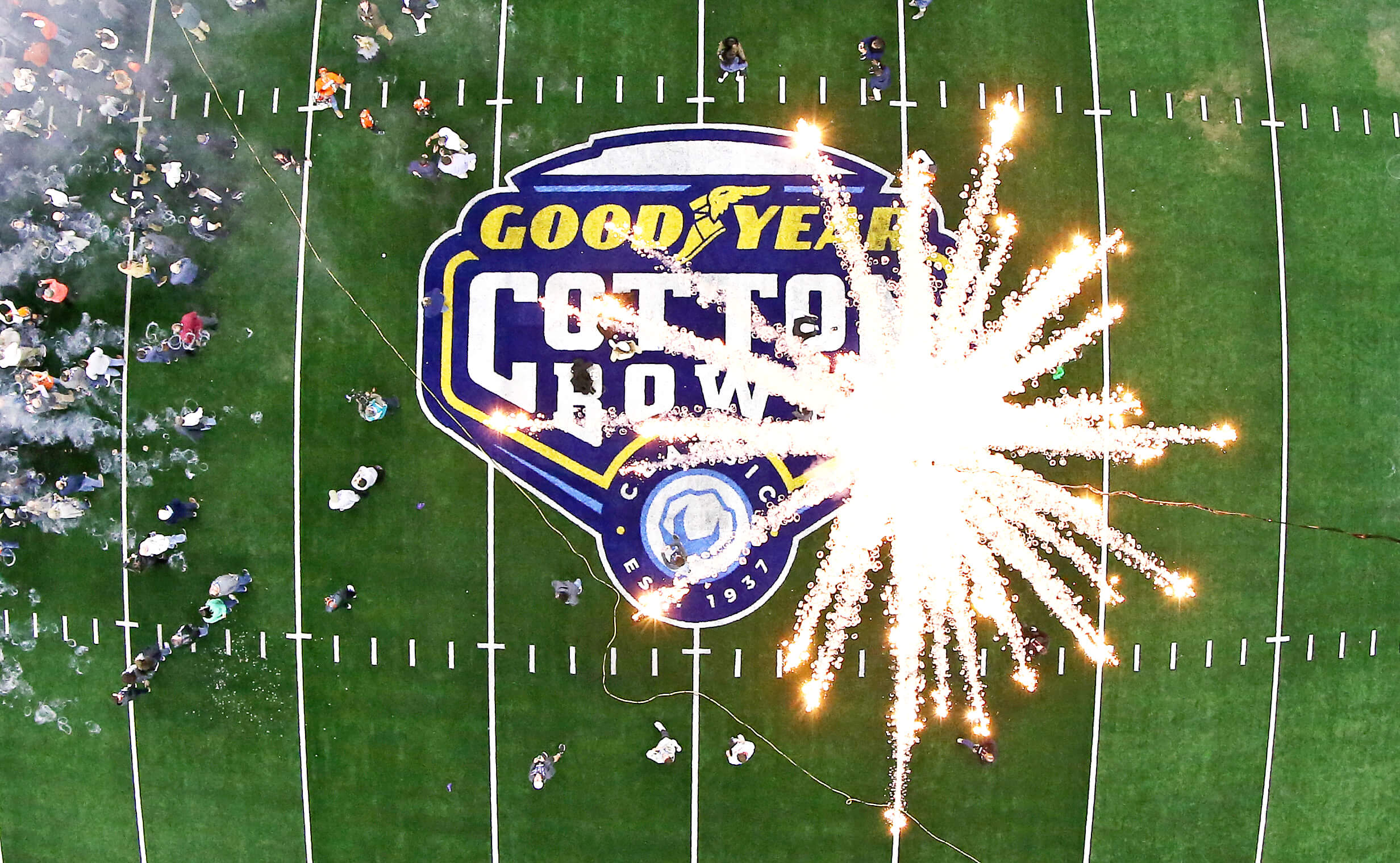 TMA created an electrifying experience for Goodyear and college football fans, celebrating the magic that happens when grit, hard work, and determination collide.