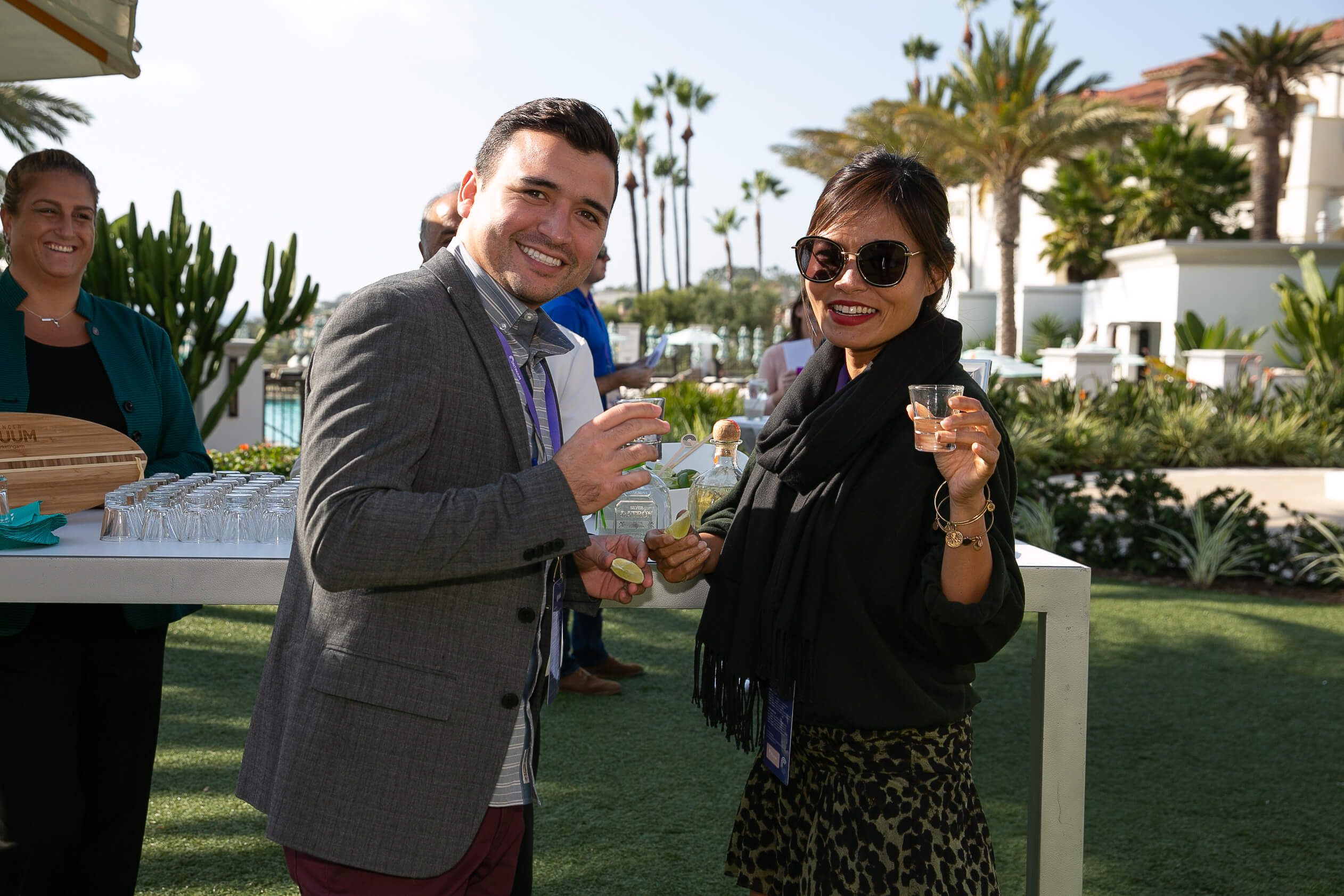 """TMA's Global Events team killed it with a """"Best Of"""" party on the lawn where there was everything from selfie lattes to personal shucked oysters, nitro treats, candy sushi, and more, which served as the backdrop for connecting one-on-one conversations between brands and partners."""