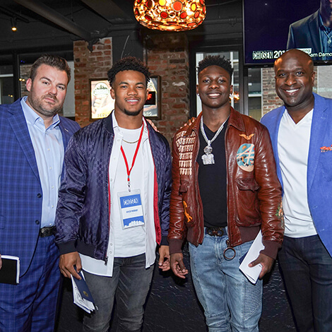 Top NFL prospects and brands connect at CHOSEN 2.0 image 7