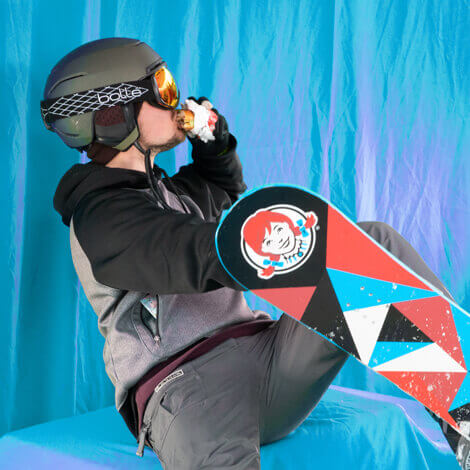 Wendy's hits the slopes with their first Ski Thru at the Winter X Games image 7
