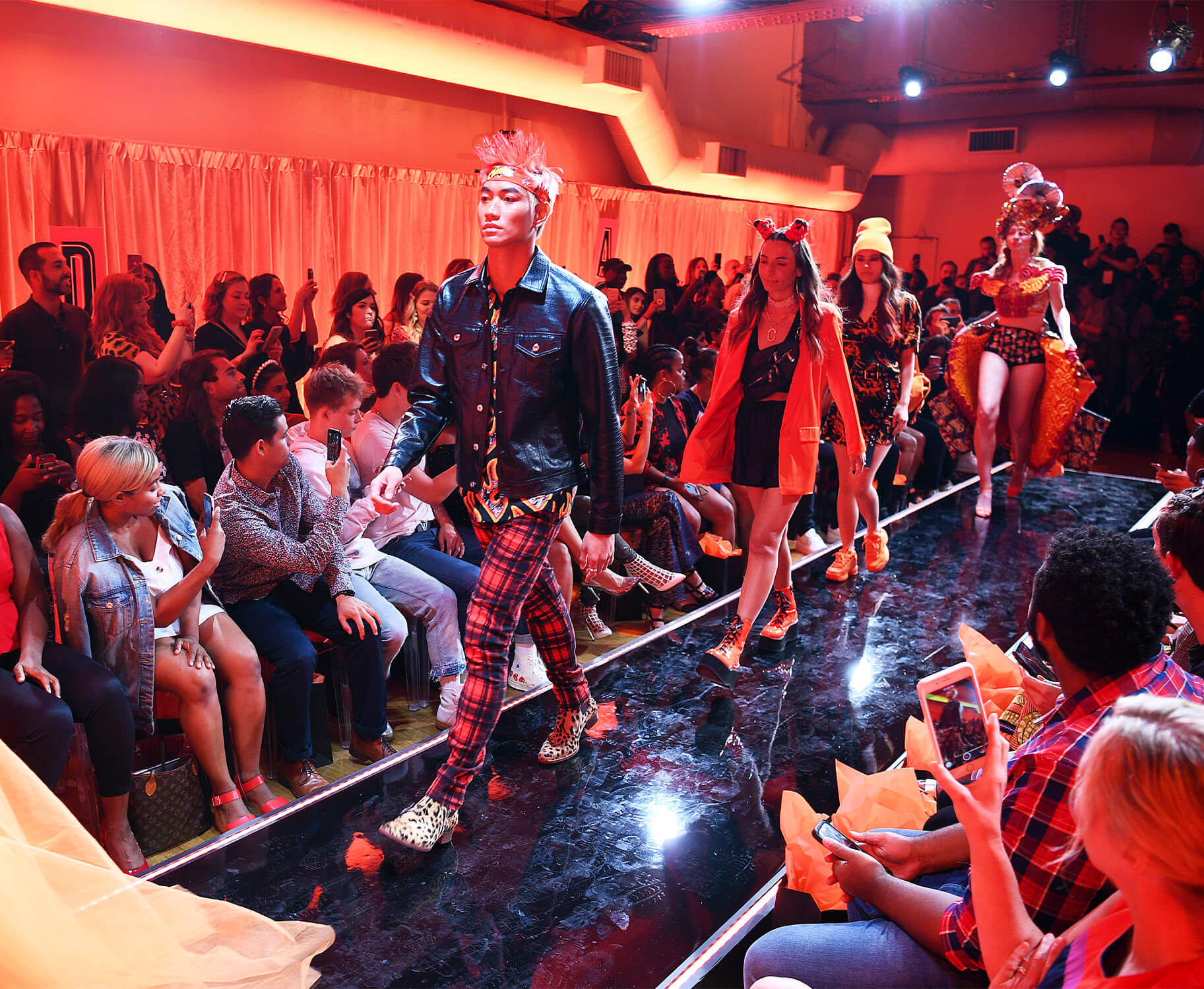 Cheetos and TMA turned up the heat during New York Fashion Week with the House of Flamin' Haute Runway Show and Style Bar. Cheetos partnered with The Marketing Arm to produce its first-ever runway show during the 2019 New York Fashion Week.