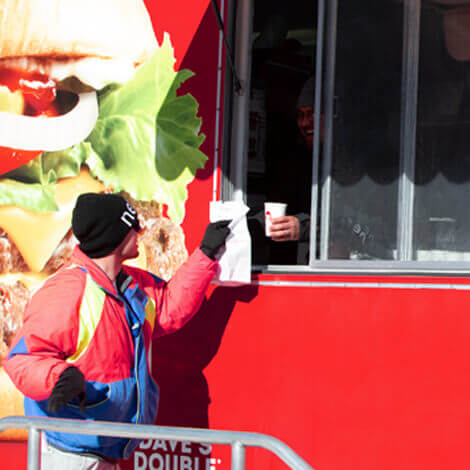 Wendy's hits the slopes with their first Ski Thru at the Winter X Games image 8