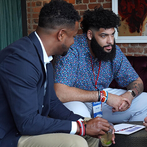 Top NFL prospects and brands connect at CHOSEN 2.0 image 8
