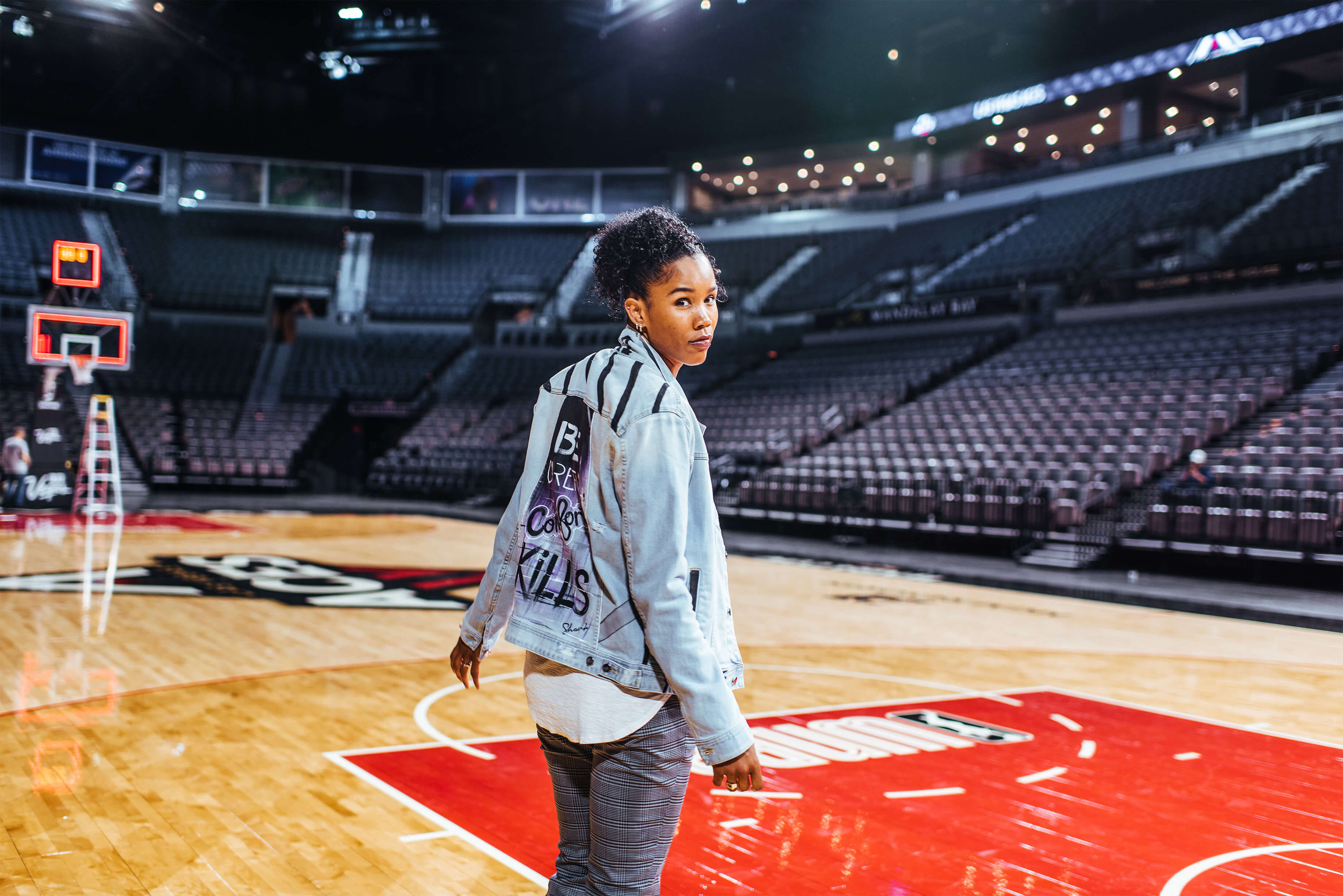 Tamera Young, forward for the Las Vegas Aces, looks back on what inspired her to play professional basketball and the determination it took to fight for what she believes in.