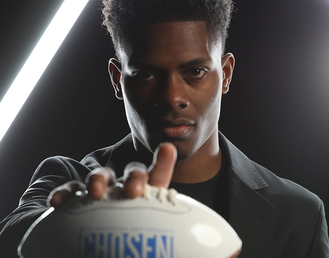 Top NFL prospects and brands connect at the Chosen event hosted by TMA's sports marketing and celebrity talent teams
