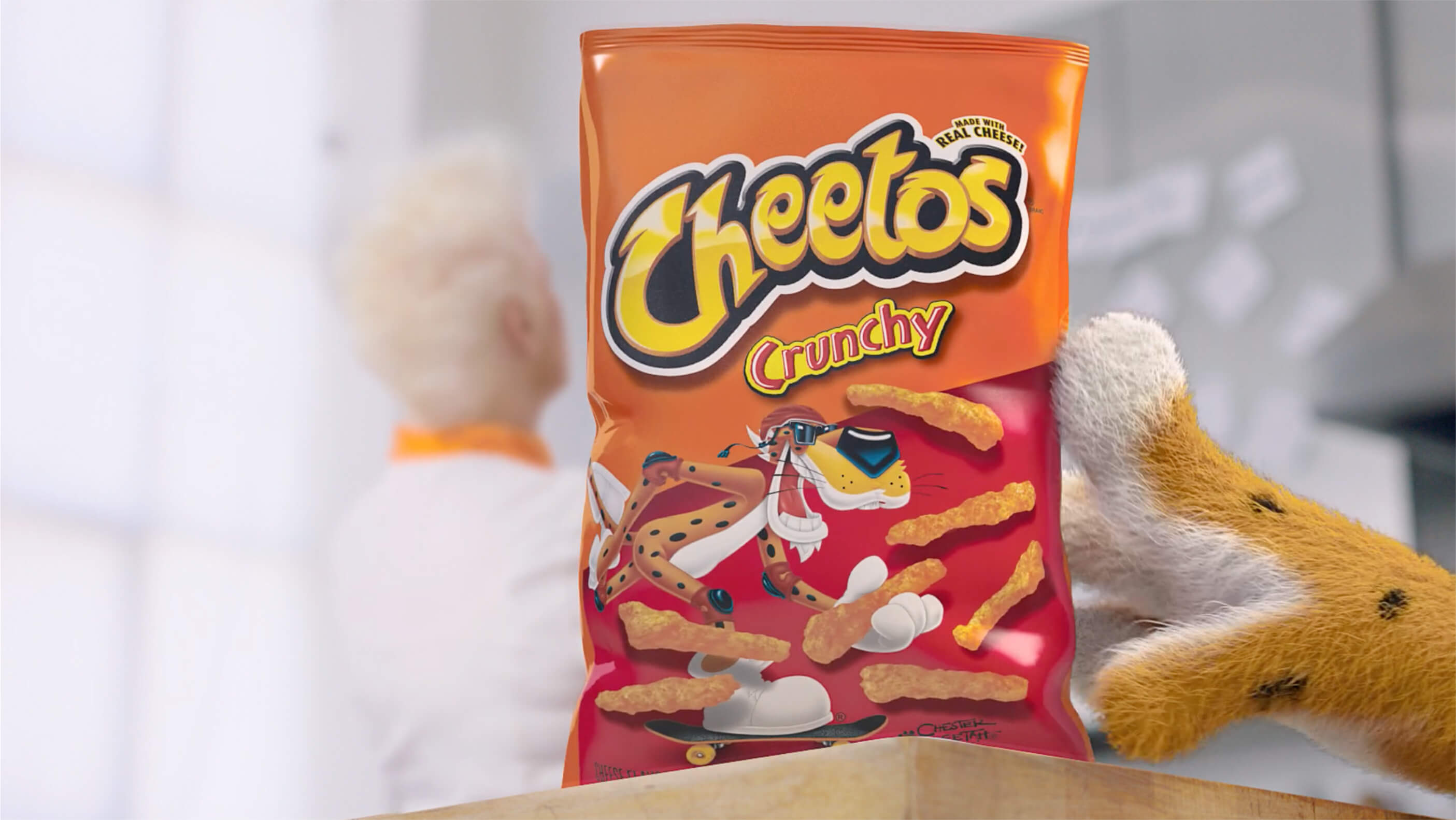 Video thumbnail: Spotted in NYC: Cheetos' first restaurant, the spotted cheetah